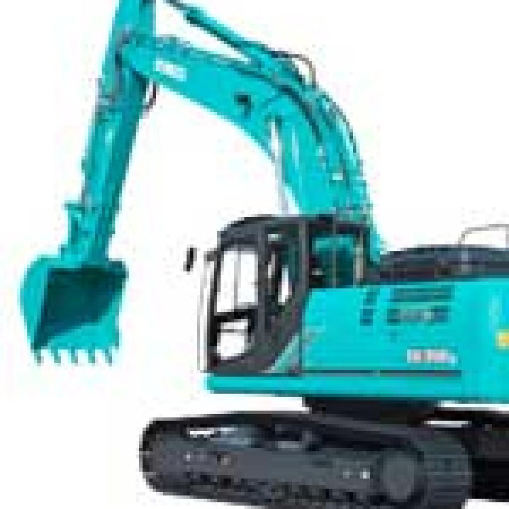 Steps For Excavators : Kobelco steps up excavator push scottish plant