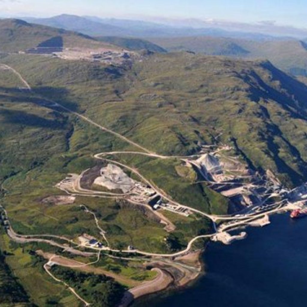 A Milestone At Glensanda Scottish Plant